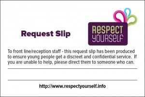 Request Slip - Blank