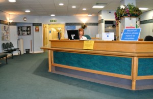 Rugby Orchard Centre - Reception